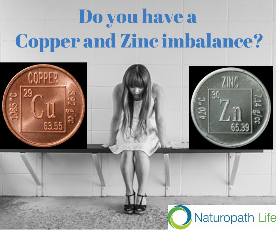 Do you have a high copper to zinc ratio?